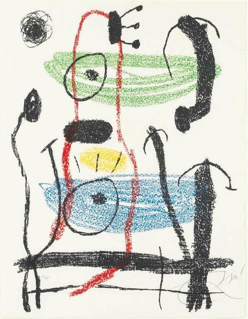 Joan Miró, 'ALBUM 21, PLATE 21 (M. 1146)', 1978, Doyle