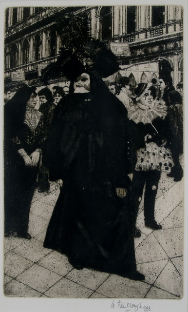 Wilfred Fairclough, 'Carnival San Marco, Venice', 1993, Private Collection, NY