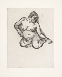 Lucian Freud, 'Girl Holding Her Foot,' 1985, Phillips: Evening and Day Editions