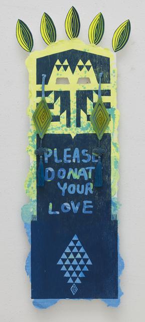 Eko Nugroho, 'Please Donate Your Love', 2013, STPI