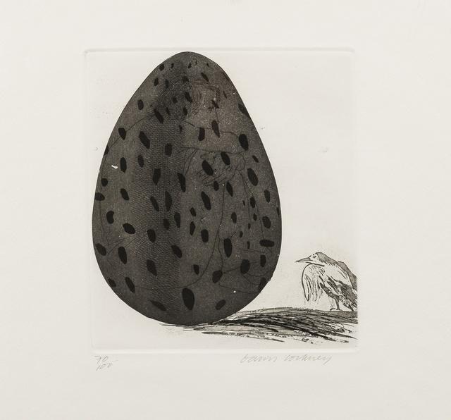 David Hockney, 'The boy Hidden in an Egg (Tokyo 69)', 1969, Forum Auctions