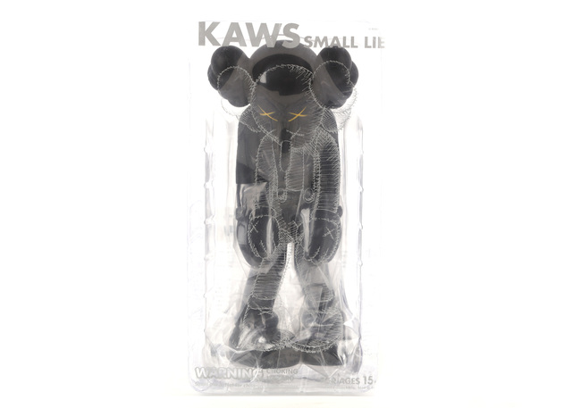 KAWS, 'Small Lie (Black)', 2017, Chiswick Auctions