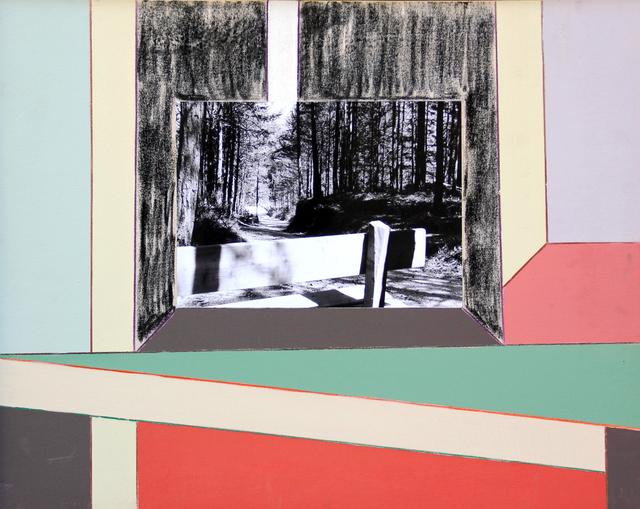 Renato Mambor, 'Nei pressi del bosco', 2007, Painting, Acrylic on canvas, Ambrosiana Casa d'Aste
