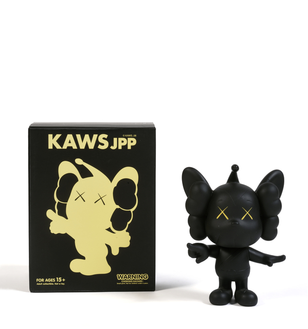 KAWS, 'JPP (Black)', 2008, Sculpture, Painted cast vinyl, DIGARD AUCTION