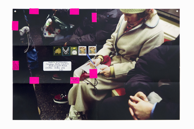 Moyra Davey, 'Subway Writers', 2011, Spring Workshop