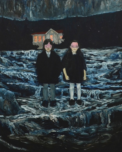 , '破線の時間、濁眠,' 2015, KOKI ARTS