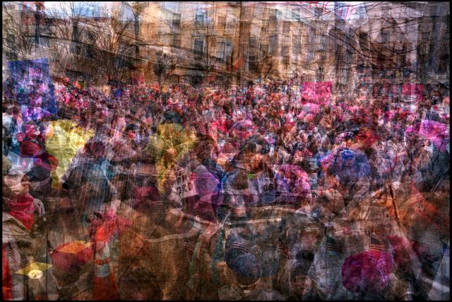 , 'Women's March on Washington 2,' 2017, Hosfelt Gallery