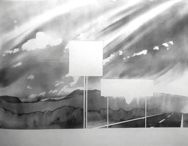 , 'Toward Mt. Sugarloaf, Deerfield, Massachusetts (from 100 Views Along the Road),' 1983, Bruce Silverstein Gallery