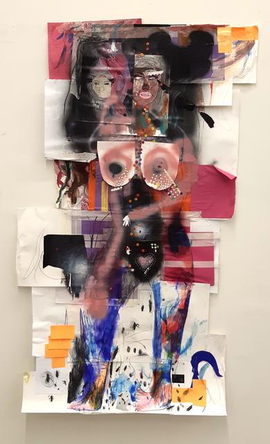 , 'Cockroach Woman,' 2018, Robert Kananaj Gallery