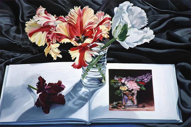 , 'Tulips with Vase De Fleurs,' 2017, Russo Lee Gallery