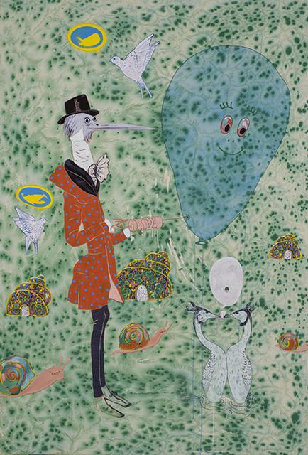 , 'Bakery, Bank and Brothel (série Vie privée, vie publique des animaux),' 2015, Galerie Hugues Charbonneau