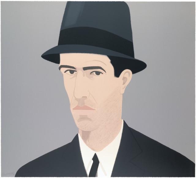 Alex Katz, 'Alex Katz Passing Self Portrait (Alex and Ada Suite)', 1990, Gregg Shienbaum Fine Art