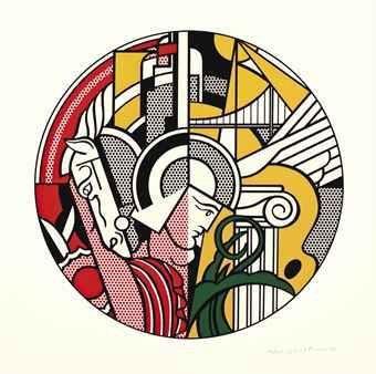 Roy Lichtenstein, 'The Solomon R. Guggenheim Museum Poster', 1969, Taglialatella Galleries