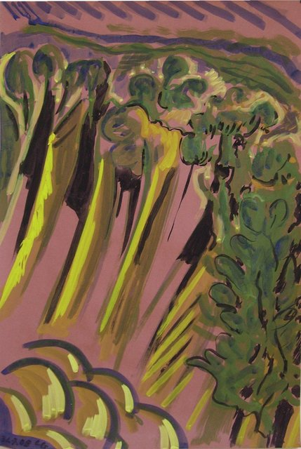 , 'Sardaigne 4,' 2008, Galerie Marie-Robin