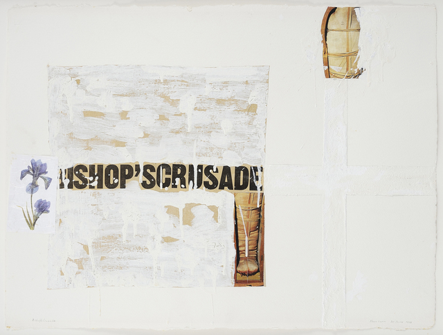 , 'Bishop's Crusade,' 1990, Charles Nodrum Gallery