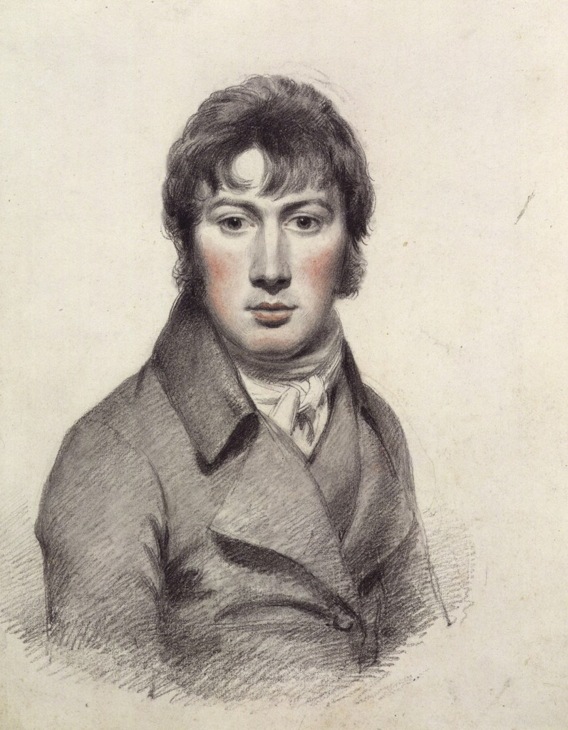 John Constable, 'Self-portrait,' ca. 1799-1804, Victoria and Albert Museum (V&A)