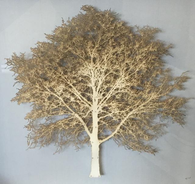 , 'Gold Oak Tree,' 2017, Wychwood Art