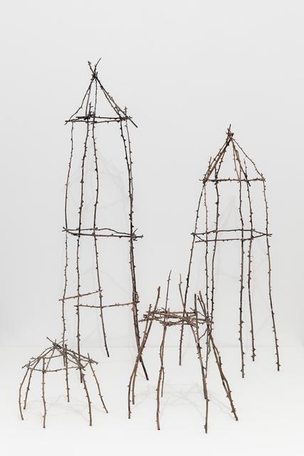 , 'Asking Shelter I, II, III, IV,' 2016, Monica De Cardenas