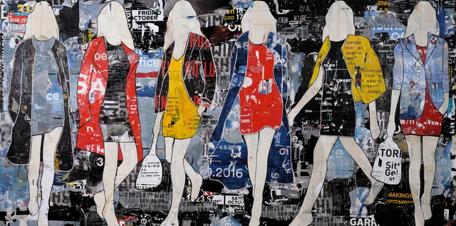 , 'Billboard Walking Girls,' , Joanne Artman Gallery