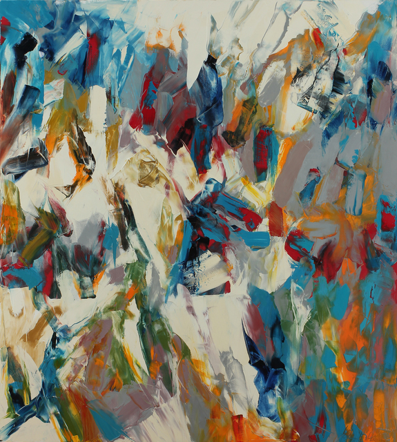 , 'Livewire (Striker #10),' 2016, Dolby Chadwick Gallery