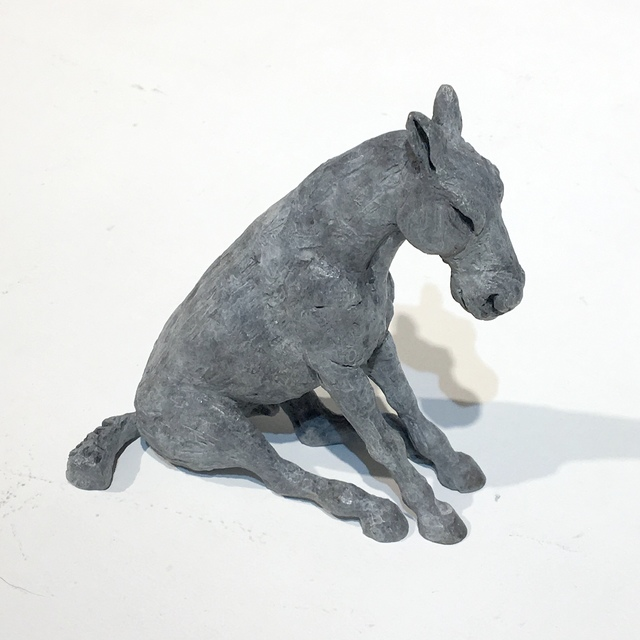 , 'Sitting  Horse Miniature,' 2015, Wetpaint Gallery