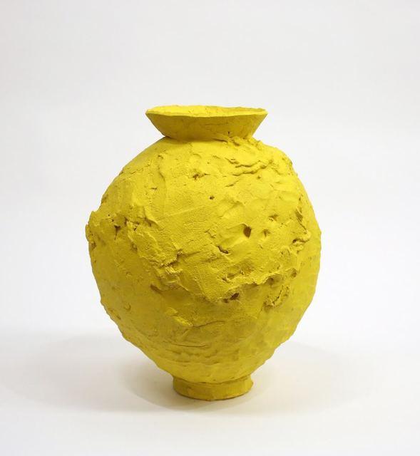 Trevor King, 'Yellow Moon Jar', 2018, David Klein Gallery