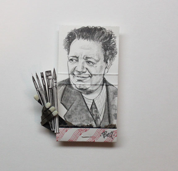 matchbox artists, 'Diego Rivera', 2016, Muriel Guépin Gallery