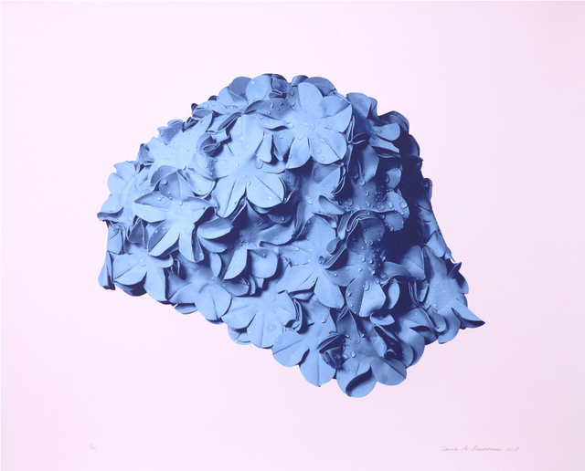 , 'Blue Cap on Pink,' 2016, C24 Gallery