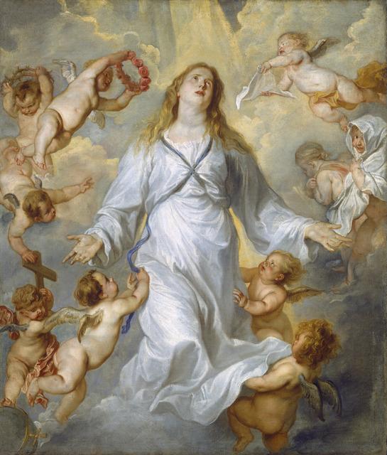 Anthony van Dyck, 'The Virgin as Intercessor', 1628/1629, National Gallery of Art, Washington, D.C.