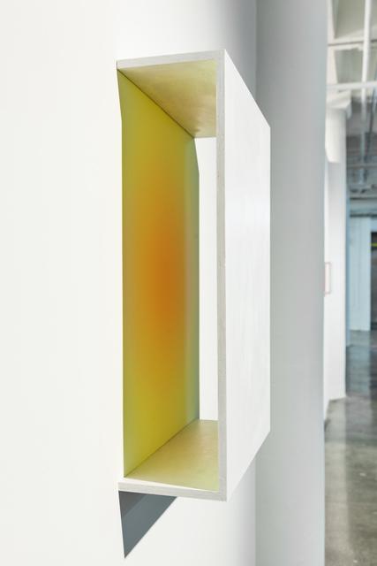 , 'Orange & Yellow_Circle,' 2017, Ki Smith Gallery