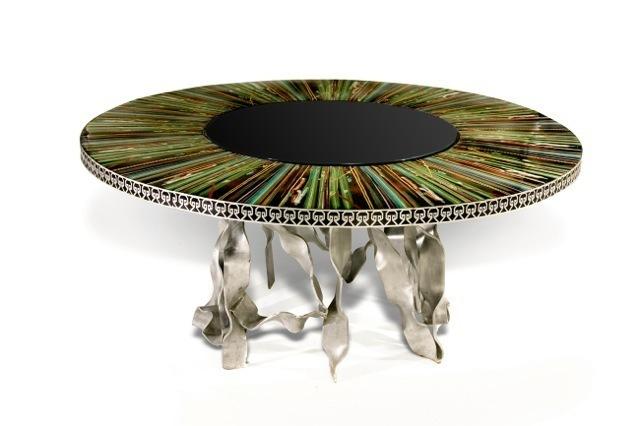 Xyz design cloisonn dining table 2006 available for for Xyz table design