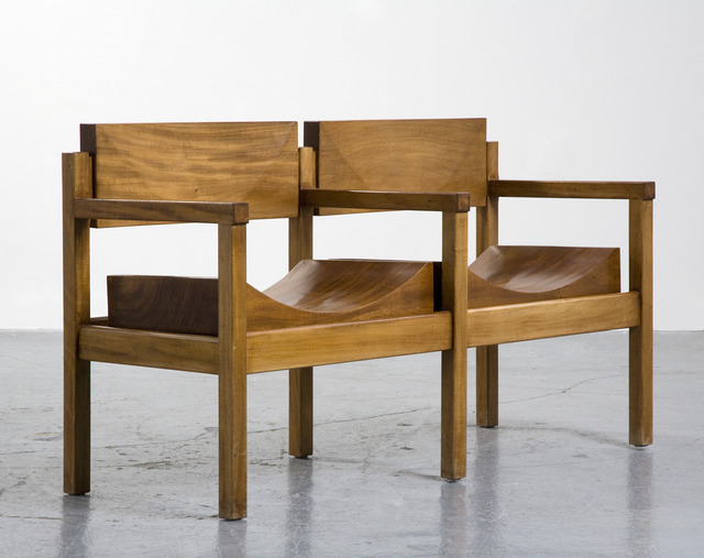 ", '""Tree Trunk Bench"",' ca. 1954, R & Company"