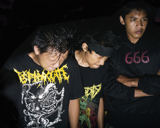 , 'Headbanging Studio Gig, Yogyakarta, Indonesia February 2010,' 2010, Gestalten