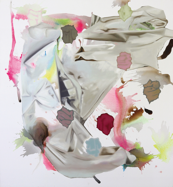 Olaf Quantius, 'Untitled (foraldous)', 2016, Painting, Oil and acrylics on canvas, Kadel Willborn