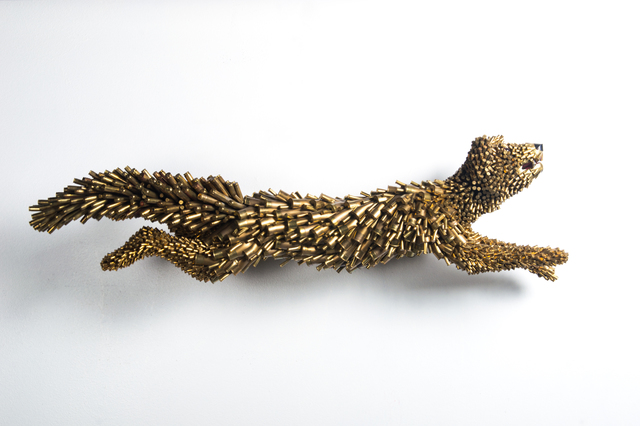 , 'Gold Fox,' 2017, Cavalier Ebanks Galleries
