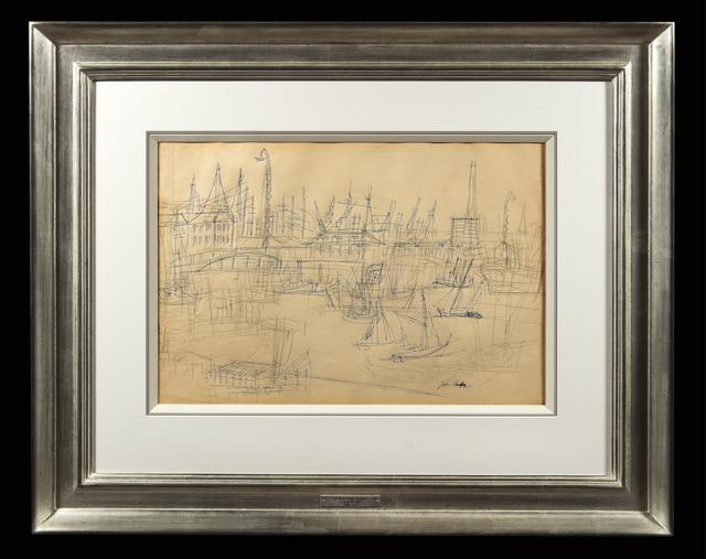 , 'Le Bassin de Toulon,' , Trinity House Paintings