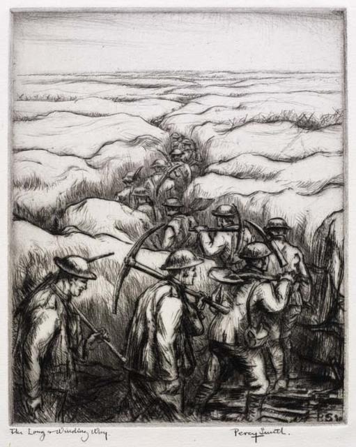 , 'The Long Winding Way,' 1916-1918, Osborne Samuel