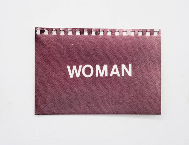 , 'Woman,' 2016, Wil Aballe Art Projects | WAAP