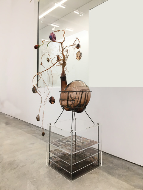 , 'Of Beauty and Decay; or, not (brown I),' 2018, Malin Gallery