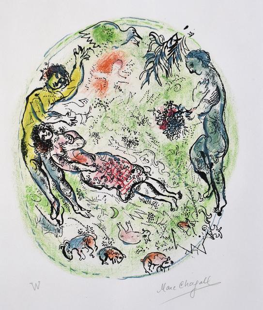 , 'And you tied around your Tender Neck Intoxicating Garlands …, from: The Land of the Gods | Et tu nouais de ton tendre col d'enivrantes guirlandes… : Sur la terre des Dieux,' 1967, Gilden's Art Gallery