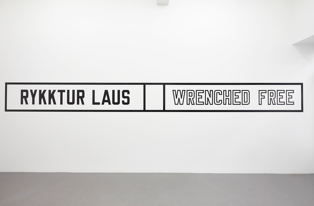 , 'Wrenched free,' 2014, i8 Gallery