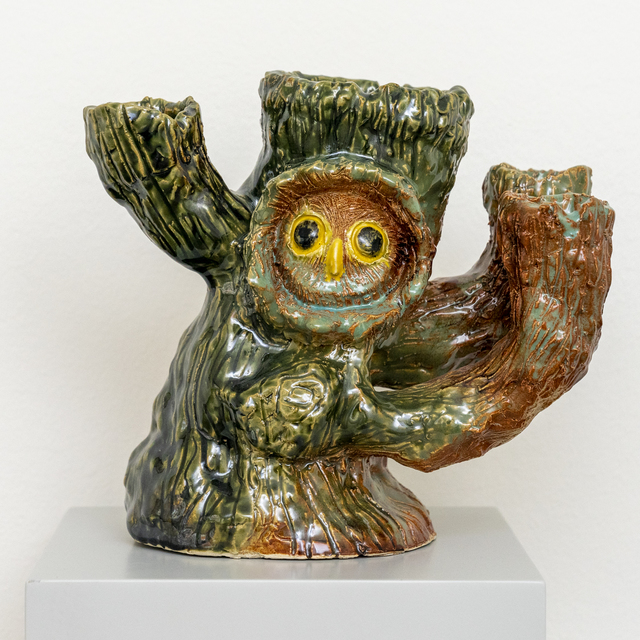 , 'Owl tree with branches,' 2019, Hans Alf Gallery