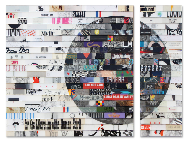 , 'Citta Samtana Diptych 218,' 2018, Galerie LeRoyer