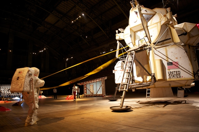 ", 'Installation view of ""Space Program: Mars"",' 2012, Tom Sachs Studio"