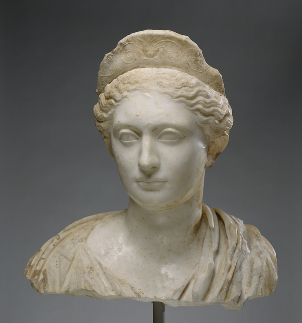 'Bust of a Woman', ca. 130, J. Paul Getty Museum