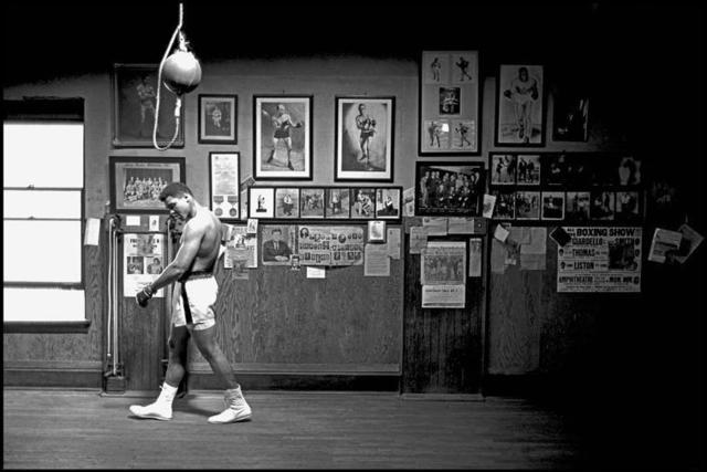 , 'Ali Walking in Gym ,' , Milk Gallery