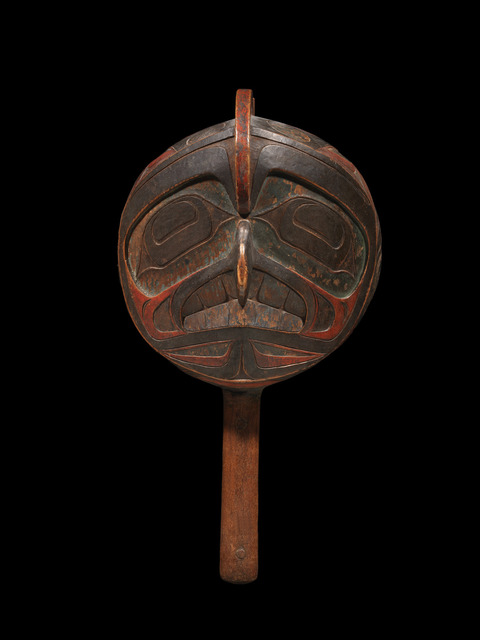 , 'Shaman's Rattle,' ca. 1820-40, Donald Ellis Gallery