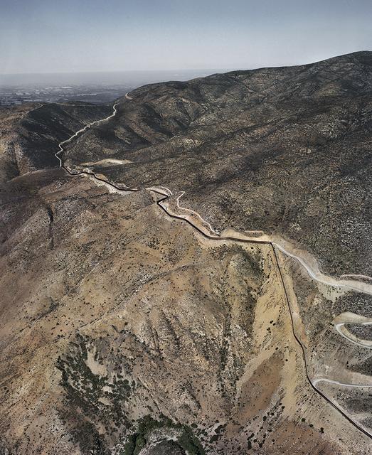, 'Tijuana /Mexicali - San Diego County III, Frontera México - USA,' 2014, Arróniz Arte Contemporáneo