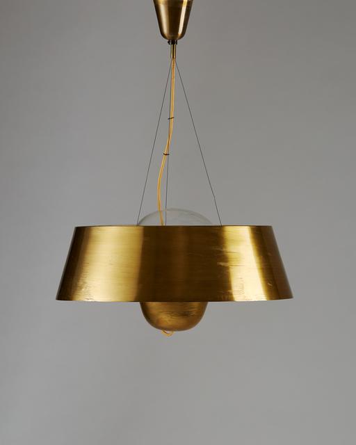 ", 'Ceiling ""City Hall Lamp"",' ca. 1940, Modernity"