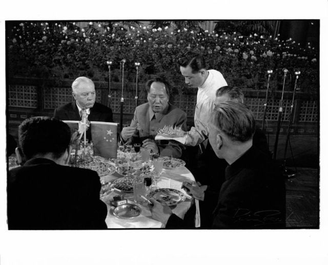 , 'Chairman Mao & Russian president Voroshilov, Beijing,' , Koru Contemporary Art